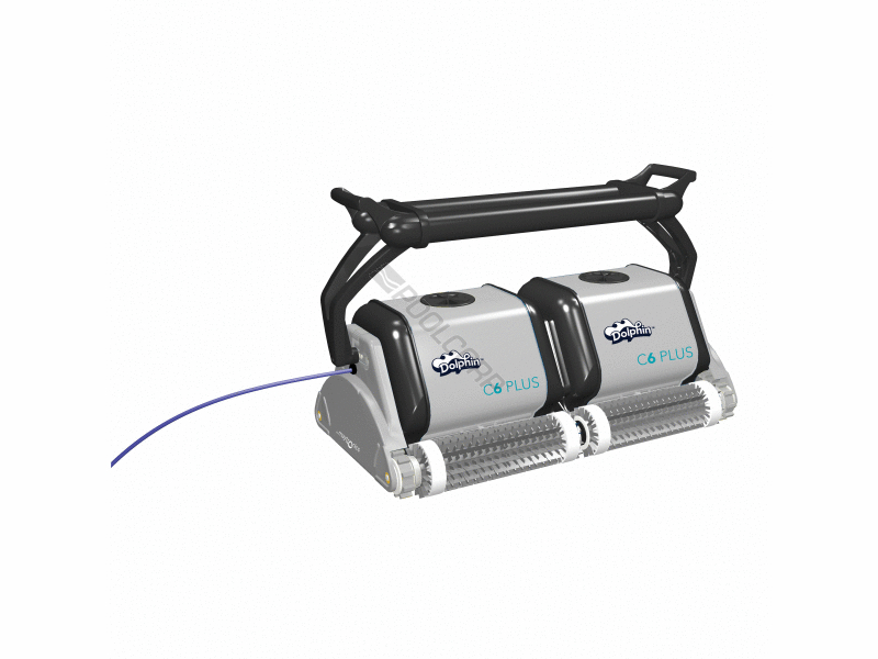 Pool360 Dolphin C6 Plus Ig Cleaner W Caddy Amp Remote