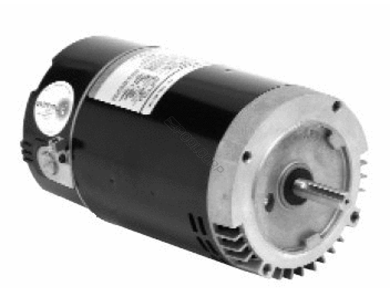 Pool360 2hp 230 115v 56c ur threaded motor for Emerson spa motor 1563