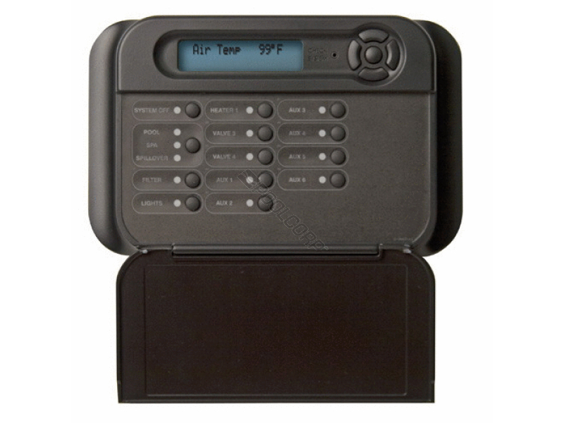 Pool360 Wht Wired Remote Display Keypad