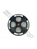Pool360 Black 4 Button Spa Side Remote W 150 Cord