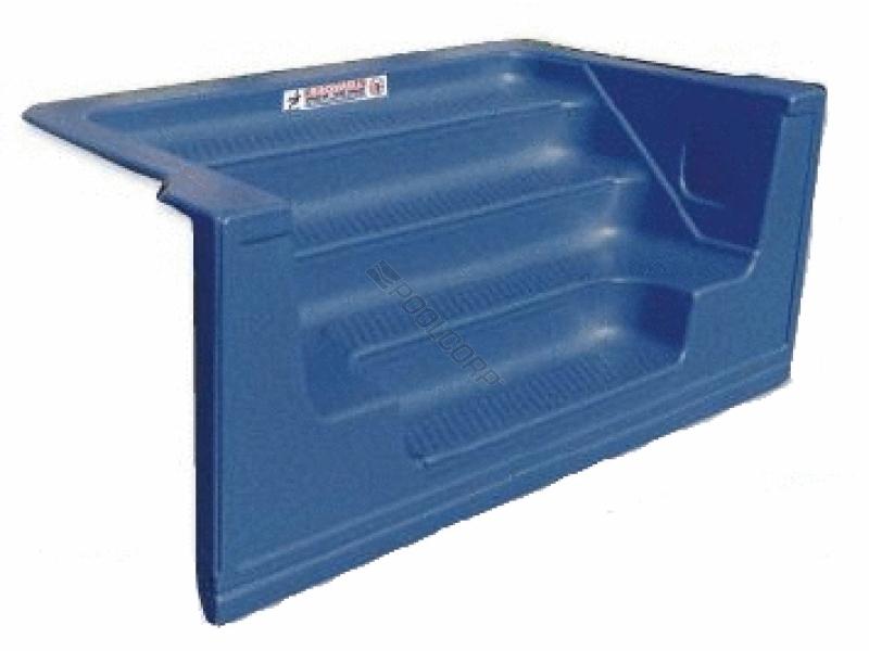 Pool360 New Blue Granite 8 Str Sit N Step Ctlvr Step