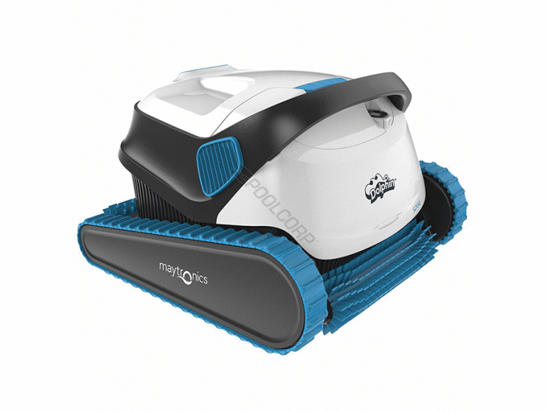 Pool360 dolphin s300 ig robotic pool cleaner w caddy - Robot dolphin s300 ...
