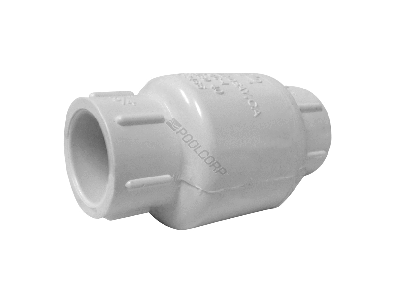 Pool nds quot pvc swing check valve sxs
