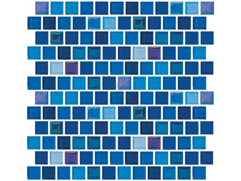 1x1 Jules 10sqf Cs Glass Tile Bright Cobalt Blue Npt 37 2000