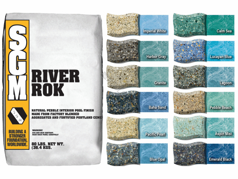 Pool360 nature 39 s collection 80 new river rock lucayan blue - Diamond brite espana ...