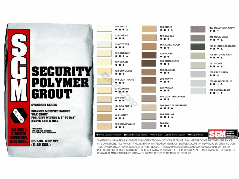 Pool360 25 210 Emerald Ice Designer Series Polymer Grout