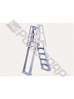 Pool360 Taupe Slide Lock A Frame Ladder