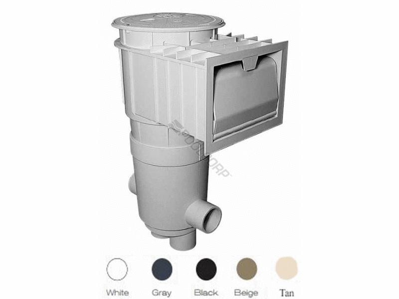 pool360 2 skt gry bge lid renegade venturi ig skimmer. Black Bedroom Furniture Sets. Home Design Ideas